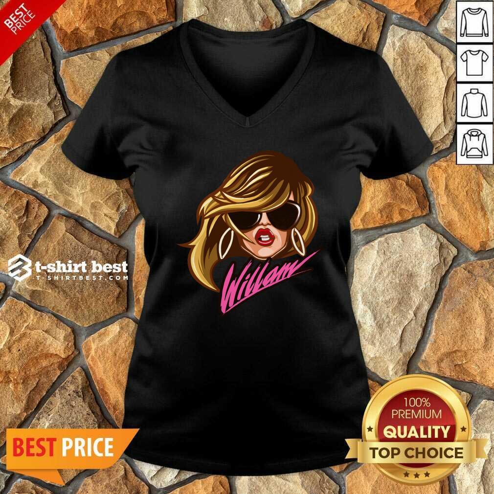 Drag Queen Merch Store Willam Logo Dress V-neck - Design By 1tees.com