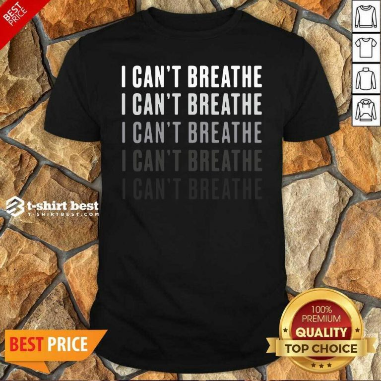 I Can't Breathe Vintage Shirt - Design By 1tees.com
