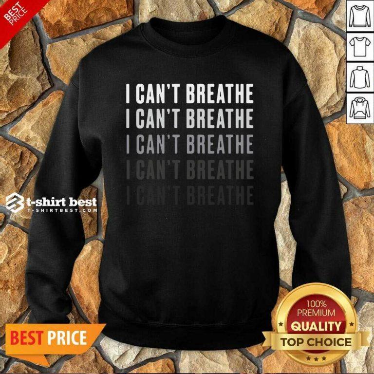 I Can't Breathe Vintage Sweatshirt - Design By 1tees.com
