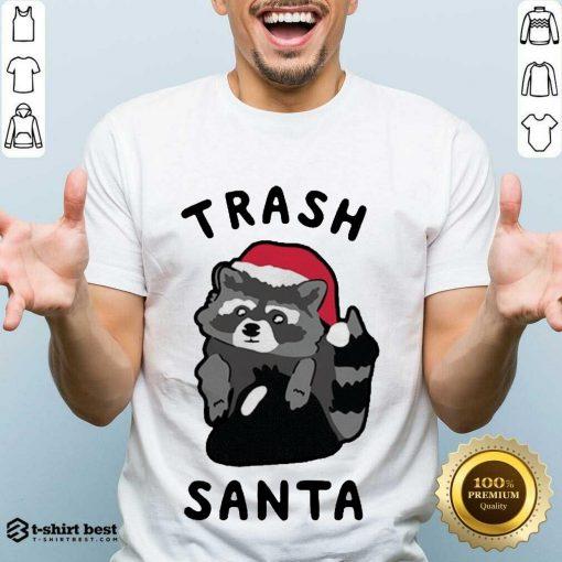 Official Trash Santa Merry Christmas Shirt - Design By 1tees.com