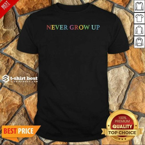 Baylen Levine Merch Never Grow Up Shirt - Design By 1tees.com