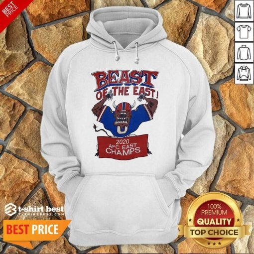 Beast Of The East 2020 Afc East Champs Hoodie - Design By 1tees.com
