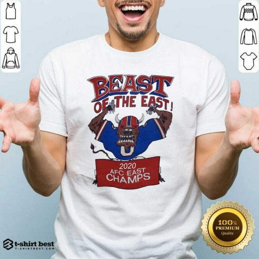 Beast Of The East 2020 Afc East Champs Shirt - Design By 1tees.com