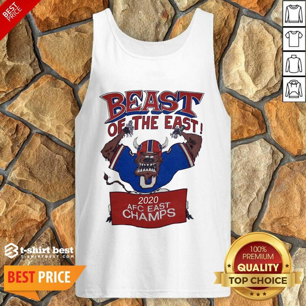 Beast Of The East 2020 Afc East Champs Tank Top - Design By 1tees.com