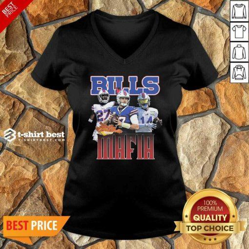 Buffalo Bills Mafia Nfl V-neck - Design By 1tees.com