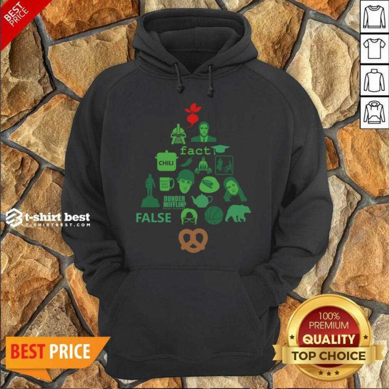 Dunder Mifflin The Office Christmas Tree Hoodie - Design By 1tees.com