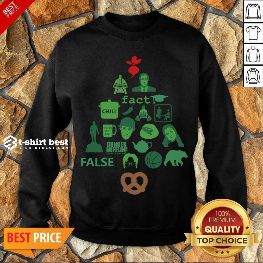 Dunder Mifflin The Office Christmas Tree Sweatshirt - Design By 1tees.com