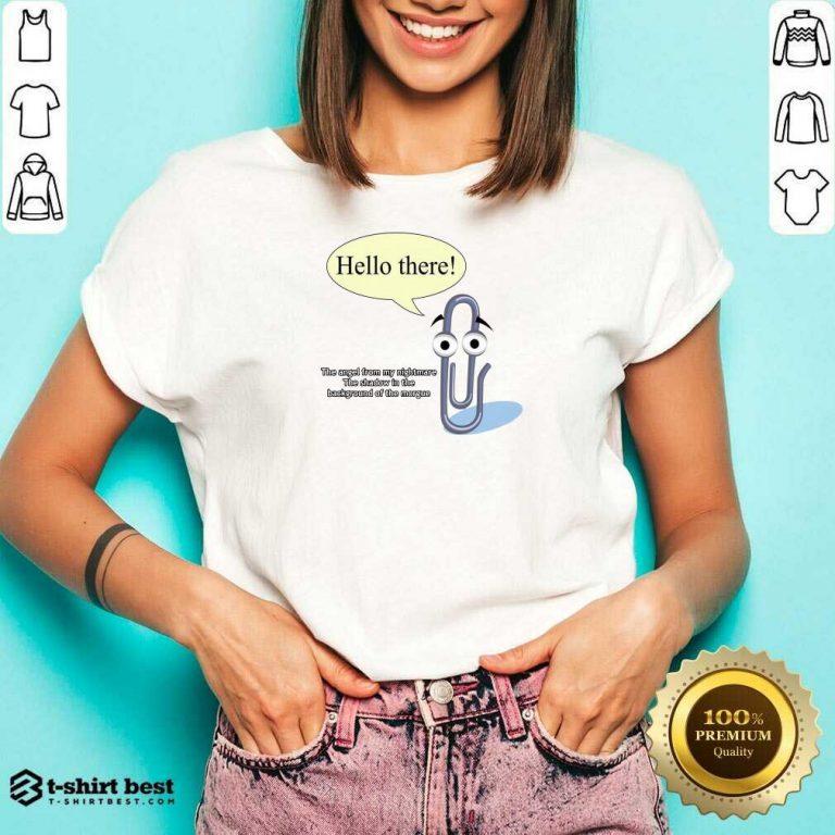 I Feel Targeted V-neck - Design By 1tees.com