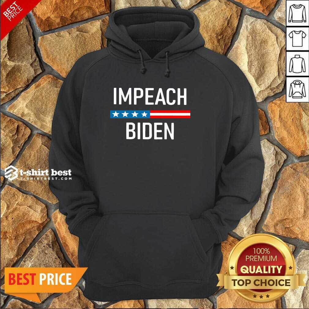 Impeach Joe Biden 2020 American Flag Hoodie - Design By 1tees.com