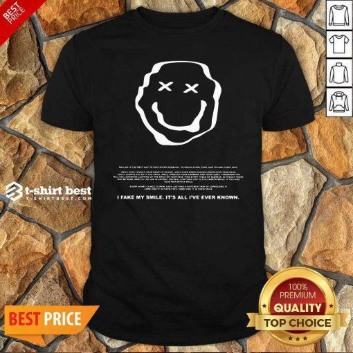 Phora Merch Saddest Smile Shirt - Design By 1tees.com