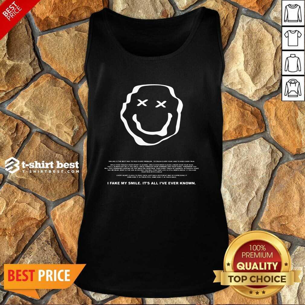 Phora Merch Saddest Smile Tank Top - Design By 1tees.com