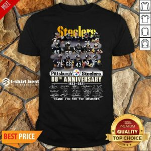 Original Pittsburgh Steelers 88th Anniversary 1933 2021 Shirt - Design By 1tees.com