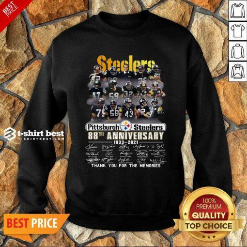 Pittsburgh Steelers 88th Anniversary 1933 2021 Sweatshirt - Design By 1tees.com