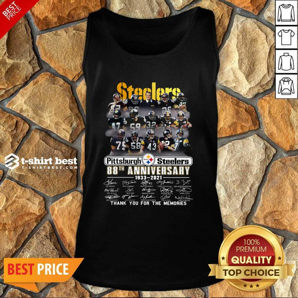 Pittsburgh Steelers 88th Anniversary 1933 2021 Tank Top - Design By 1tees.com