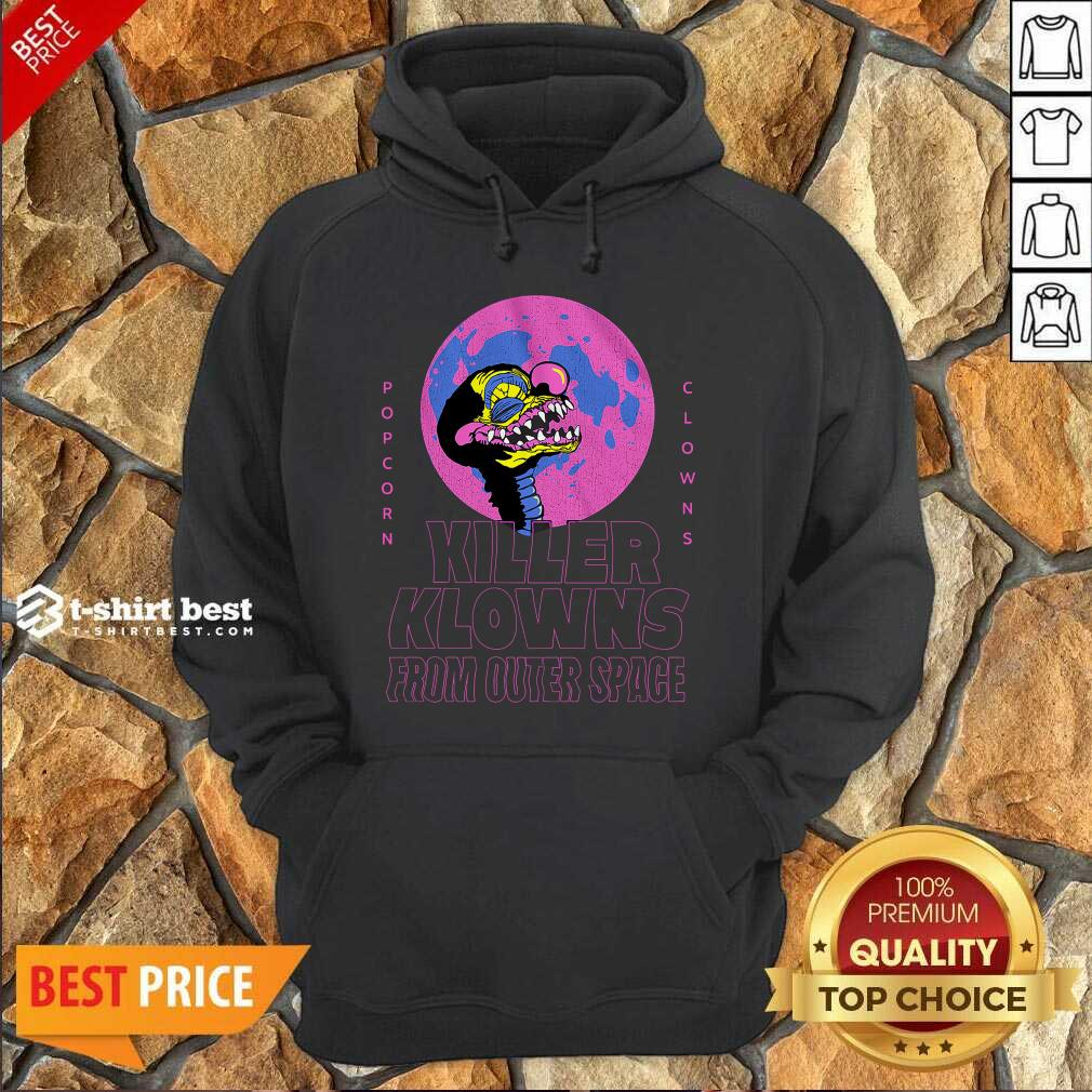 Popcorn Clowns Killer Klowns From Outer Space Hoodie - Design By 1tees.com