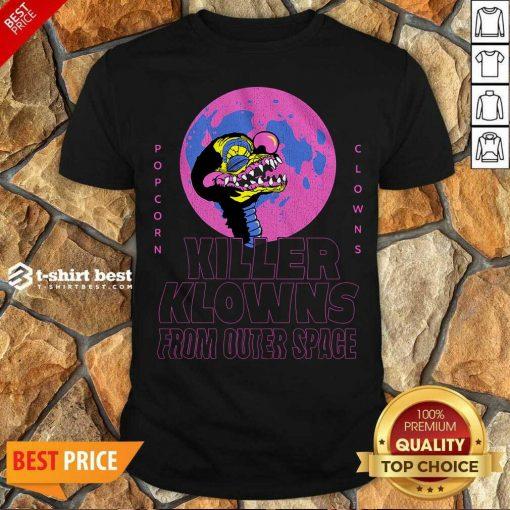Original Popcorn Clowns Killer Klowns From Outer Space Shirt - Design By 1tees.com