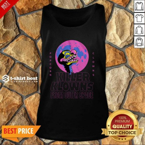 Popcorn Clowns Killer Klowns From Outer Space Tank Top - Design By 1tees.com