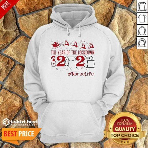 The Year Of The Lockdown 2020 #Nurselife Merry Christmas Hoodie - Design By 1tees.com