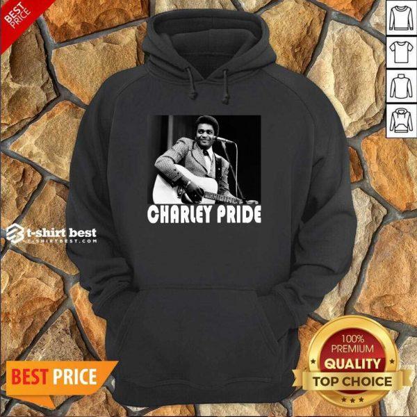 Charley Pride Playing Guitar 2020 Hoodie - Design By 1tees.com