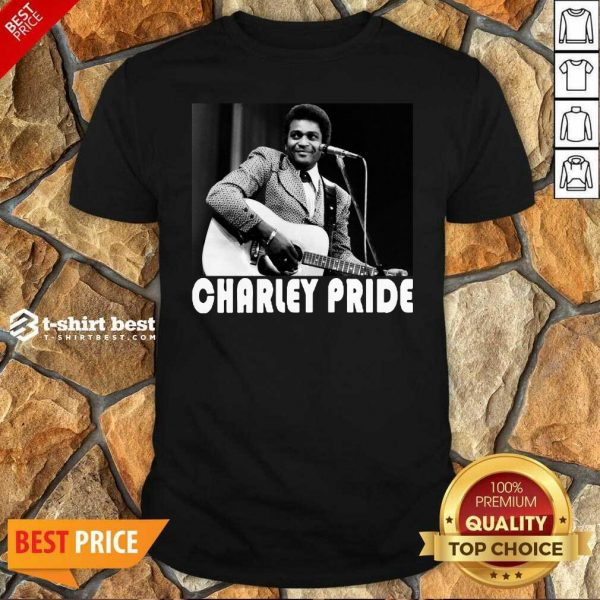 Charley Pride Playing Guitar 2020 Shirt - Design By 1tees.com