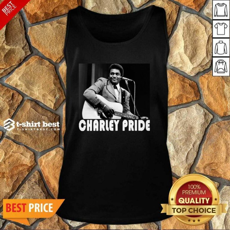 Charley Pride Playing Guitar 2020 Tank Top - Design By 1tees.com