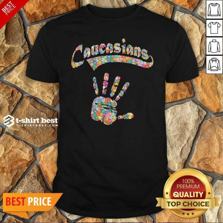 Perfect Floral Hand Caucasians Shirt - Design By 1tees.com