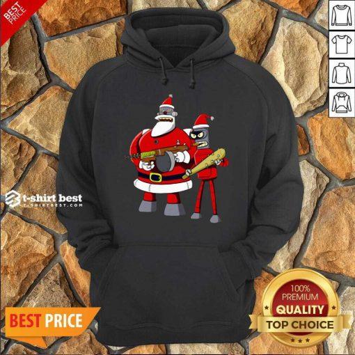 Future Futurama Ugly Christmas Hoodie - Design By 1tees.com