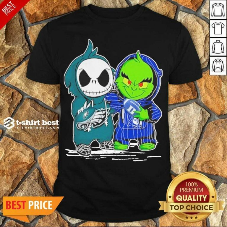 Perfect Jack Skellington Philadelphia Eagles And The Grinch Duke Basketball Shirt - Design By 1tees.com