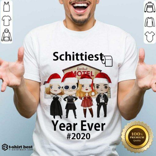 Perfect Schitt's Creek Schittiest Year Ever 2020 Christmas Shirt - Design By 1tees.com