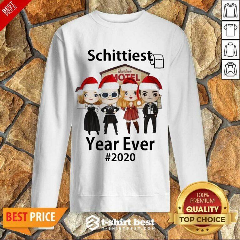 Schitt's Creek Schittiest Year Ever 2020 Christmas Sweatshirt - Design By 1tees.com