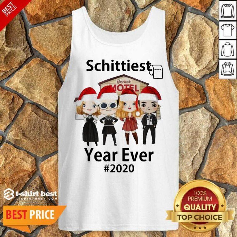 Schitt's Creek Schittiest Year Ever 2020 Christmas Tank Top - Design By 1tees.com