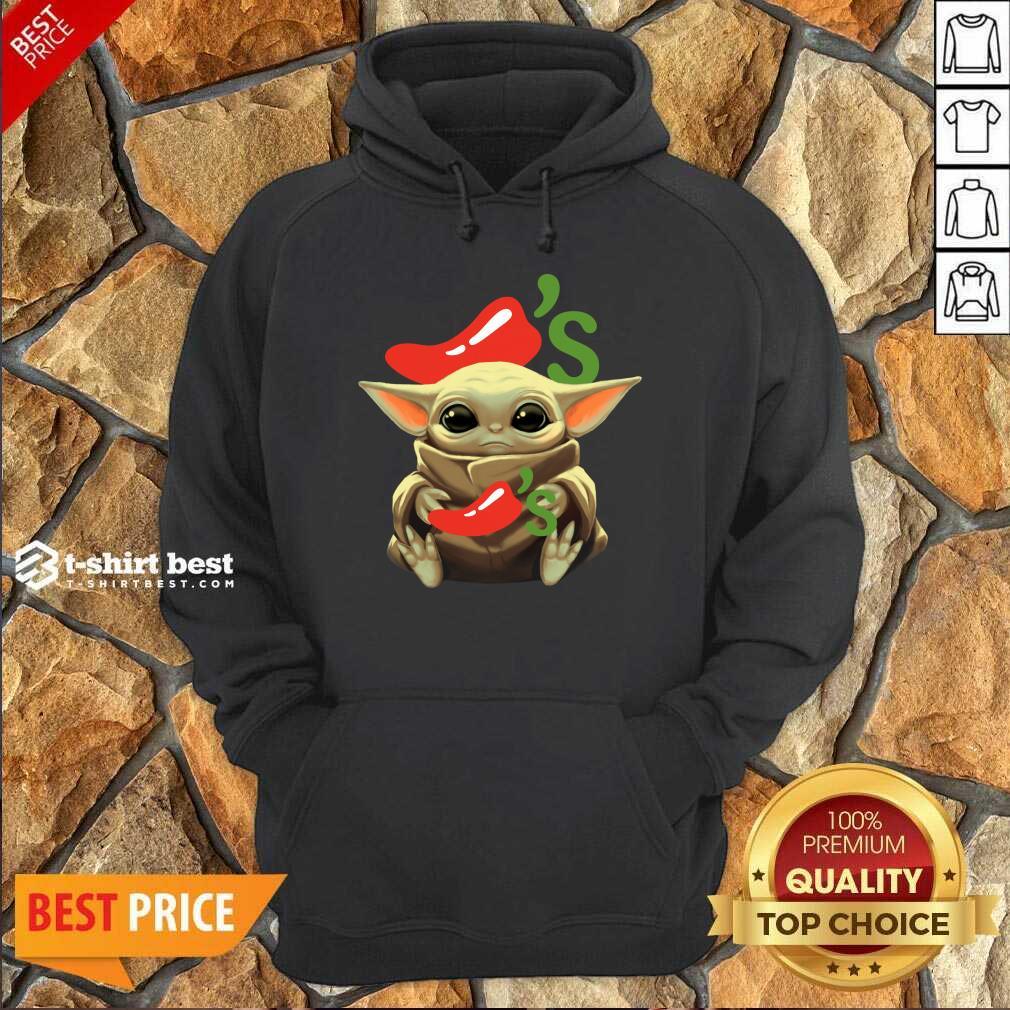 Baby Yoda Hug Chilis 2020 Hoodie - Design By 1tees.com