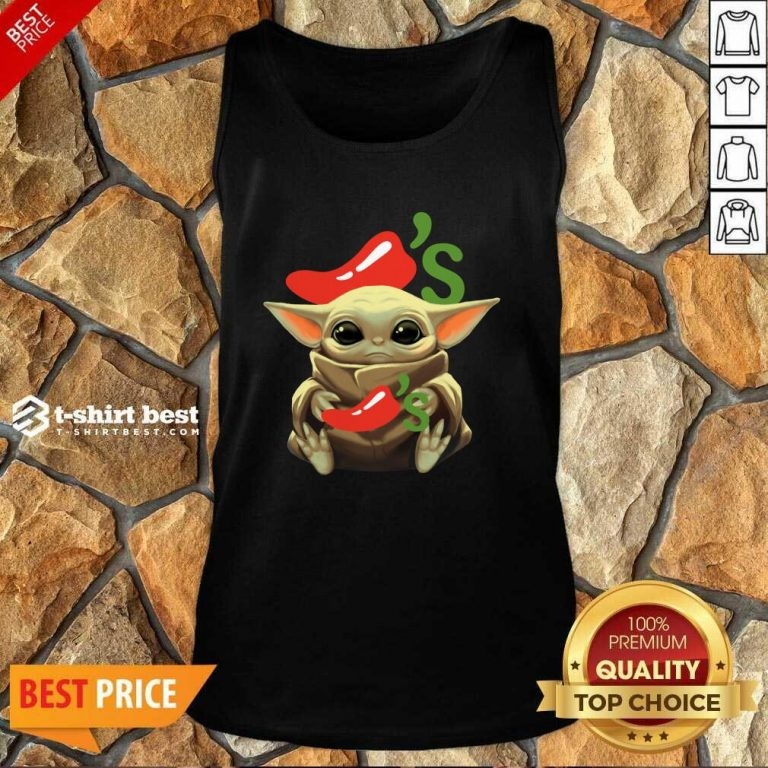 Baby Yoda Hug Chilis 2020 Tank Top - Design By 1tees.com