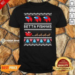 Premium Betta Fishmas Ugly Christmas Shirt - Design By 1tees.com