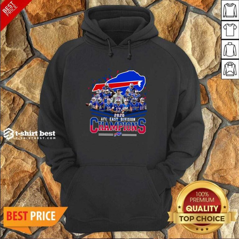 Buffalo Bills 2020 AFC East Division Champions Hoodie - Design By 1tees.com