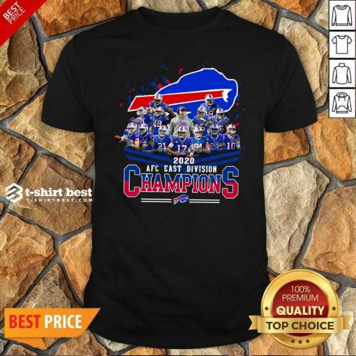 Buffalo Bills 2020 AFC East Division Champions Shirt - Design By 1tees.com