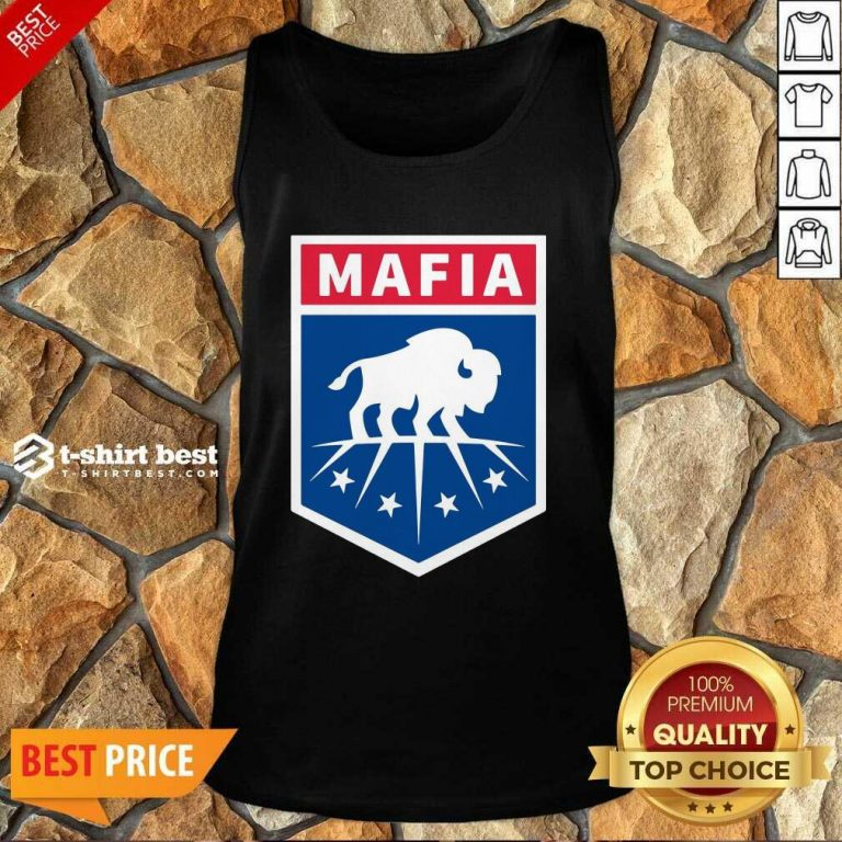 Buffalo Bills Mafia Logo Tank Top - Design By 1tees.com