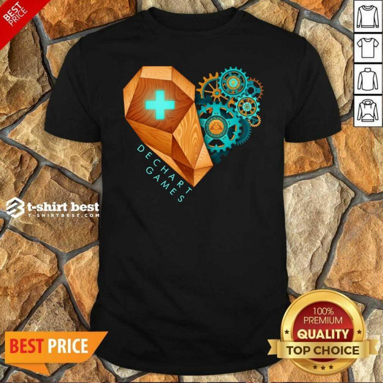 Dechart Games Shirt - Design By 1tees.com