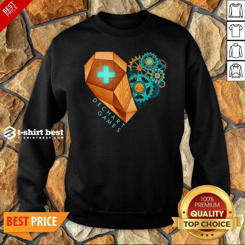 Dechart Games Sweatshirt - Design By 1tees.com