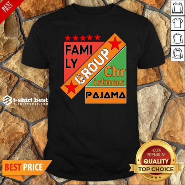 Family Group Christmas Pajama Shirt - Design By 1tees.com