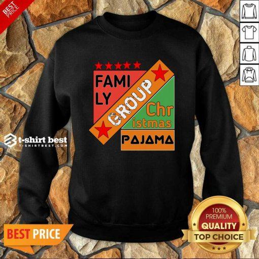 Family Group Christmas Pajama Sweatshirt - Design By 1tees.com