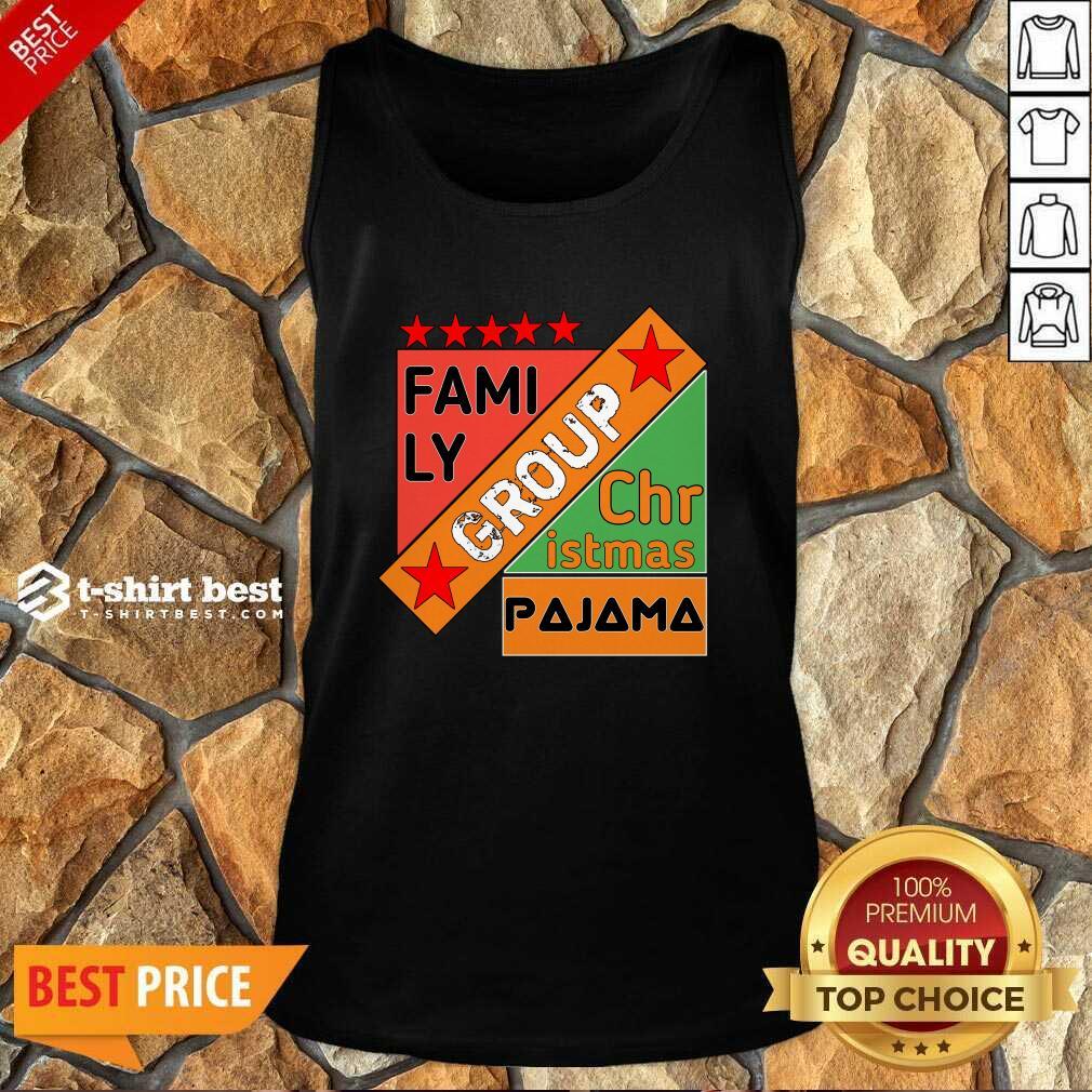 Family Group Christmas Pajama Tank Top - Design By 1tees.com