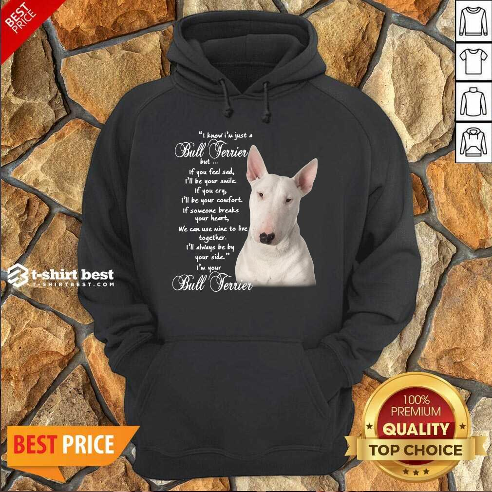 I Know I'm Just A Bull Terrier But If You Feel Sad Hoodie - Design By 1tees.com