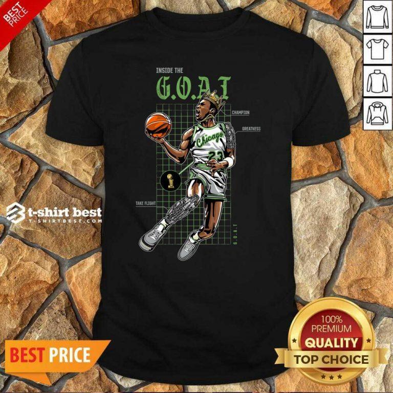 Jordan 11 Bred Inside The Goat Shirt - Design By 1tees.com