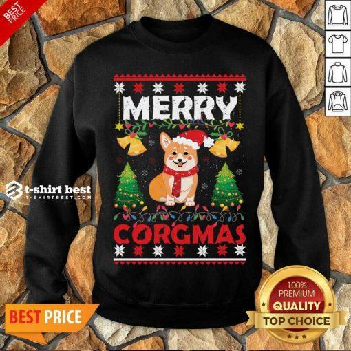 Merry Corgmas For Christmas Season Sweatshirt - Design By 1tees.com