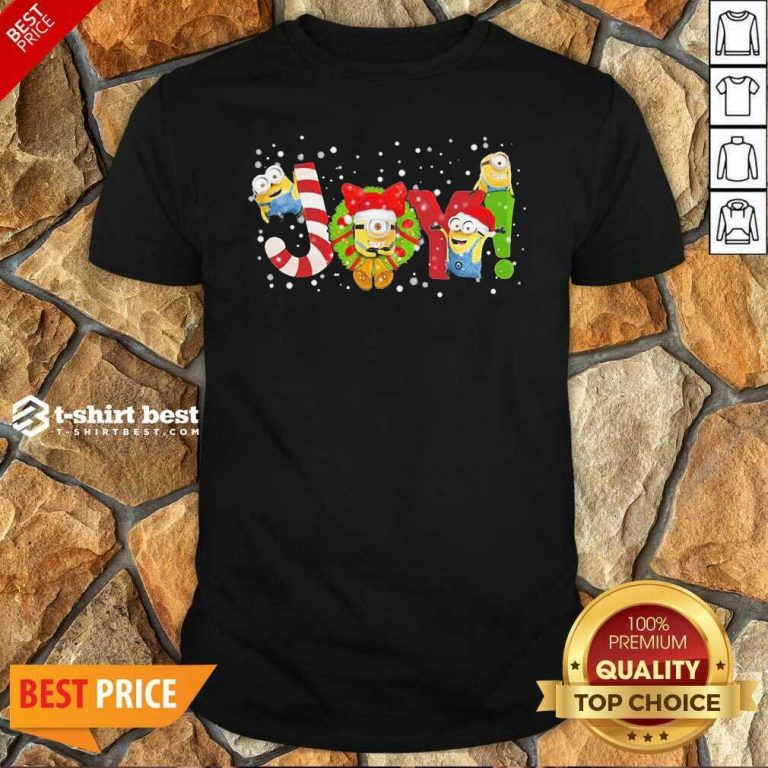 Minions Joy Christmas Shirt - Design By 1tees.com