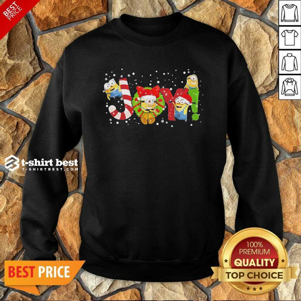 Minions Joy Christmas Sweatshirt - Design By 1tees.com