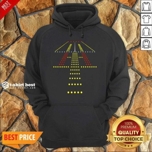 New Runway Light Ugly Christmas Hoodie - Design By 1tees.com