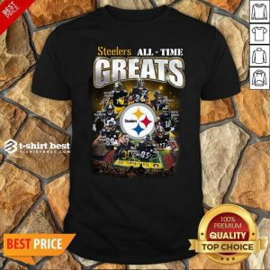 Pittsburgh Steelers All Time Greats Signatures Shirt - Design By 1tees.com