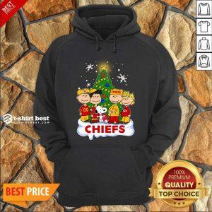 Snoopy The Peanuts Kansas City Chiefs Christmas Hoodie - Design By 1tees.com